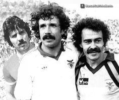 Toni, Humberto Coelho e Bento, SL Benfica