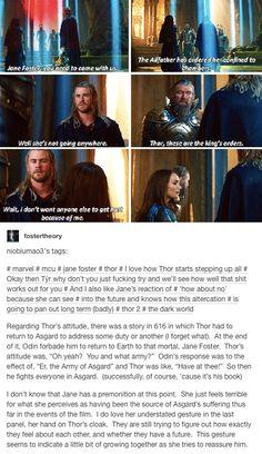 Jane Foster Thor Odinson marvel mcu avengers
