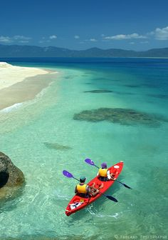 Kayakers at Fitzroy Island