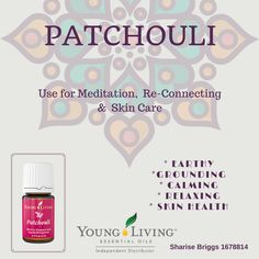 Patchouli Use for Meditation,  Re-Connecting &  Skin Care * Earthy ...