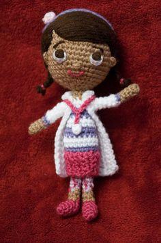 Doc McStuffins Amigurumi Crochet Pattern by Crochet4Days on Etsy