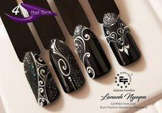 13 mar ten pin został odkryty przez użytkownika a ps. Glitter French Nails, French Nail Art, Sparkle Nails, Sculpted Gel Nails, Nail Art Wheel, Vintage Nails, Sky Nails, Nail Art Stamping Plates, Christmas Nail Art