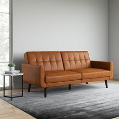 Sofa Bed Fold Out, Futon Sofa Bed, Sleeper Sofas, Comfortable Futon, Leather Futon, Leather Couches, Modern Futon, Office Sofa, Office Furniture