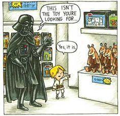 If Luke actually grew up with Vader...