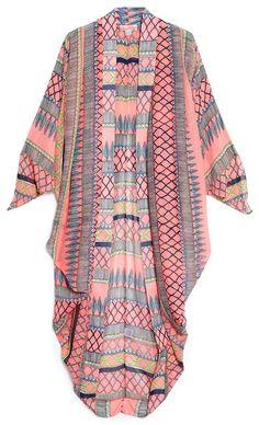 kimono cover up Mara Hoffman Cocoon Beach Cover-Up Robes Pin Up, Summer Outfits, Cute Outfits, Paisley, Beach Attire, Boho Fashion, Womens Fashion, Kimono Fashion, Mara Hoffman