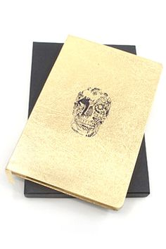 @Tori Russo you need this skull journal!