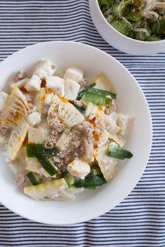 豆腐とたけのこの塩麻婆丼 by tomoko 「写真がきれい」×「つくりやすい」×「美味しい」お料理と出会えるレシピサイト「Nadia | ナディア」プロの料理を無料で検索。実用的な節約簡単レシピからおもてなしレシピまで。有名レシピブロガーの料理動画も満載!お気に入りのレシピが保存できるSNS。