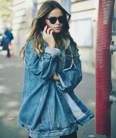 Miroslava Duma, Denim Skirt, Fashion Show, Ruffle Blouse, Casual, Skirts, How To Wear, Levis, Instagram