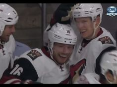 Coyotes' Max Domi notches first career goal with a rocket of a wrist shot Nhl, Max Domi, Coyotes Hockey, Steven Stamkos, Coyote S, Phoenix Coyotes, Hockey News, Arizona Coyotes, Jonathan Toews