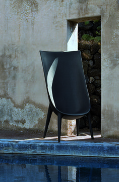 Driade, Out In High Back chair designed by Philippe Starck with Eugeni Quitllet, available through Studio Guell