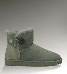 UGG Mini Bailey Button 3352 Grey Boots