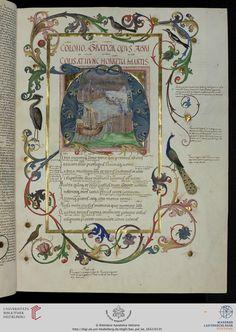 Vatikan, Biblioteca Apostolica Vaticana, Pal. lat. 1632 Vergilius Maro, Publius: Sammelhandschrift (Deutschland, 15. Jh.)