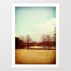 The View Art Print by Sybille Sterk - $17.68