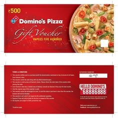 Food And Pizza Gift Voucher Template Design Download Http - Pizza gift certificate template