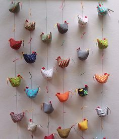 - List of the most creative DIY and Crafts Easter Crafts, Felt Crafts, Fabric Crafts, Sewing Crafts, Diy And Crafts, Arts And Crafts, Easter Food, Chicken Crafts, Chicken Art