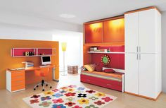 Hearts Bedroom Decorating Ideas for teenage girls, To have an elegant Bedroom Decorating Ideas is not always required to own a big space, as Modern spaces can create an elegant atmosphere without to Girl Bedroom Designs, Girls Bedroom, Bedroom Decor, Bedroom Ideas, Built In Bed, Desk Areas, Modern Spaces, Girl Room, Furniture