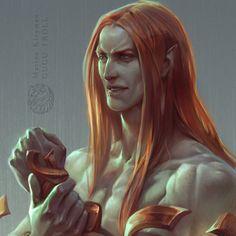 ArtStation - Copper guy, Marina Kleyman