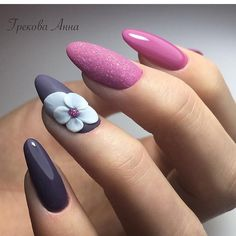 """1,670 Likes, 2 Comments - Блог о красоте 🎀 (@nail_nogti_makeup) on Instagram: """"🎀🎀🎀@nail_nogti_makeup 💙 Идеи маникюра✔️🌺 @nail_nogti_makeup Идеи причесок ✔️ 🌺@nail_nogti_makeup…"""""""