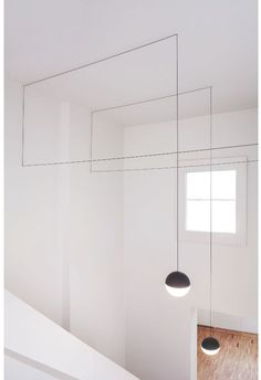 String Lights by Michael Anastassiades add a modern element to any interior.