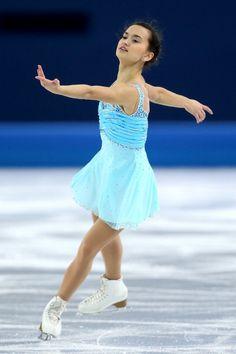 Anne Line Gjerse - Short Program - Sochi 2014