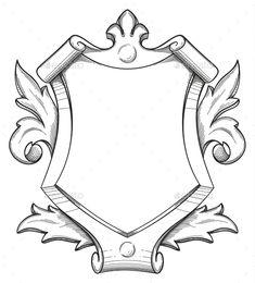 Baroque Shield Drawing #antique, #art, #baroque, #black, #blank, #border, #cool, #decoration, #decorative, #designer, #drawing, #element, #empty, #filigree, #floral, #flourish, #graphic, #hand, #handmade, #heraldic, #illustration, #isolated, #label, #line, #medallion, #monogram, #old, #ornament, #ornate, #outline