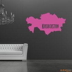 "Wandtattoo ""Kasachstan"" - ab 9,95 €   Xaydo Folientechnik"
