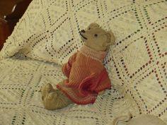 Reclining Antique Bear.  Photo by Frederick Meekins