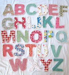 rag letters
