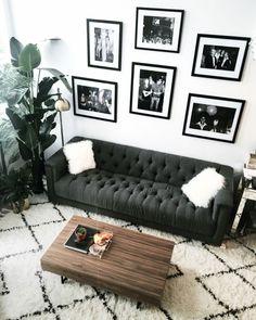 black & white modern decoration