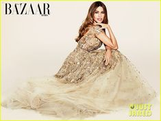Sofia Vergara Talks Possibility of Having Kids with Joe Manganiello: Photo #3594506. Sofia Vergara looks stunning in a cream dress on the cover of Harper's Bazaar Arabia, on sale on March 1.    The 43-year-old Modern Family actress opened up about…