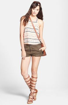 Parker Crop Tank & Joie Shorts  available at #Nordstrom
