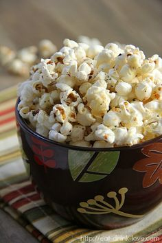 Parmesan Ranch Popcorn - Eat. Drink. Love.