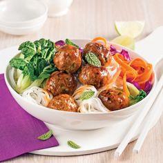 Boulettes de veau et légumes, sauce teriyaki - Recettes - Cuisine et nutrition - Pratico Pratique