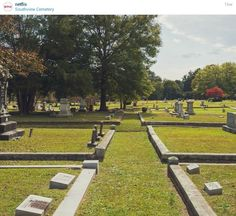 Southview Cemetery in Covington, Georgia, which doubles for Mystic Falls, Virginia in the TV series The Vampire Diaries
