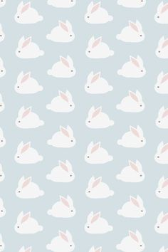 Bunny wallpaper-like Uncle Jesses room!!
