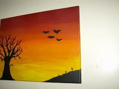 sunset painting acrylic - Sök på Google