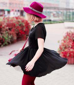 K Fashion ; Autumn... Love. The hat
