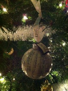 Collage christmas ornament