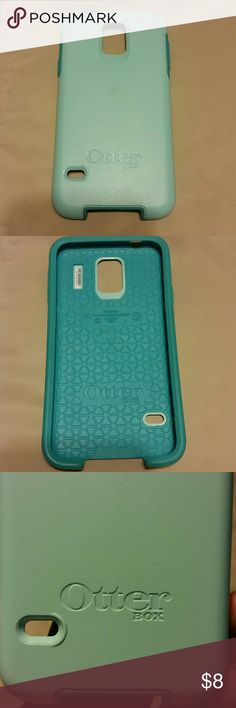 Otter box Galaxy S5 Teal otter box purchased for the Samsung Galaxy S5. Used for about a week. Perfect condition! OtterBox Accessories Phone Cases