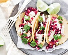 Yummy Supper: A Recipe For Pomegranate Fish Tacos