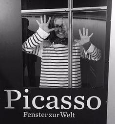 via Instagram schrizzyyy: #picasso #fensterzurwelt