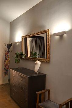Apliques de pared para proyectar la luz hacia la pared. Decoración con luz.
