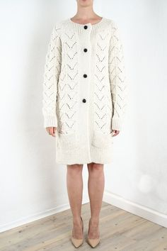 https://www.cityblis.com/4005/item/10963 | cardigan LA CUMBRE - $285 by www.ka-fraidenraij.com | the big piece for the fall and winter saison, top quality knitting, smooth and warm, made from pure babylama wool  body fitting silhouhette coltish romantic knit motifs on both sides two pockets, aplicated frontally  fancy leather botons length (superior-to-inferior) 92cm (size M) 100% babyla... | #Knitwear