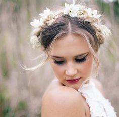 Makeup (not flower crown)