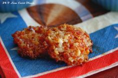 Game Day Crunchers - low carb appetizer - Now this looks great! A total game changer! LOL!