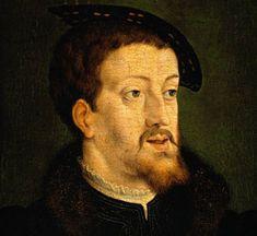 Carlos I de España y V de Alemania.