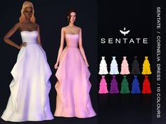 sims 4 cc // custom content clothing // The Sims Resource // Sentate's Cornelia . - - sims 4 cc // custom content clothing // The Sims Resource // Sentate's Cornelia Gown // formal wear, wedding, prom dress gown Source by Sims 4 Teen, Sims Four, Sims 4 Mm Cc, Sims 4 Mods Clothes, Sims 4 Clothing, Female Clothing, Sims 4 Wedding Dress, Prom Dress, Maxis
