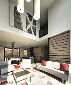 walk-in. Au sous-sol il sera possible d'aménager une Plane, India Architecture, Furniture Showroom, Small House Plans, House Layouts, Tiny Living, Basement Remodeling, Modern House Design, Traditional House