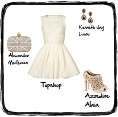 LWD look for a night out! created by @The Closet Clause TCC