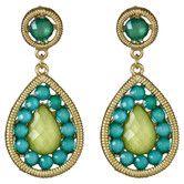 Hera Earrings in Turquoise & Green